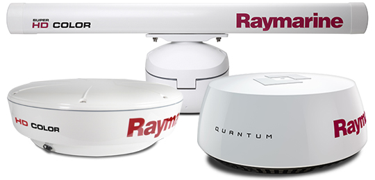 Radome en Open Array Radar Scanners | Raymarine