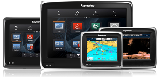 aSeries Multifunctionele display | Raymarine