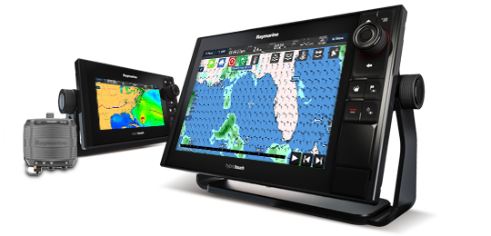 Hier vindt u meer informatie over de Marine Weather | Raymarine by FLIR
