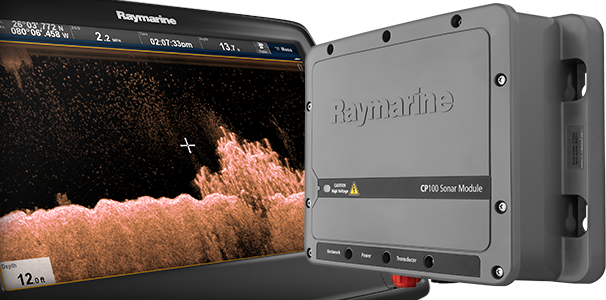 CP100 Sonar with CHIRP DownVision | Raymarine by FLIR