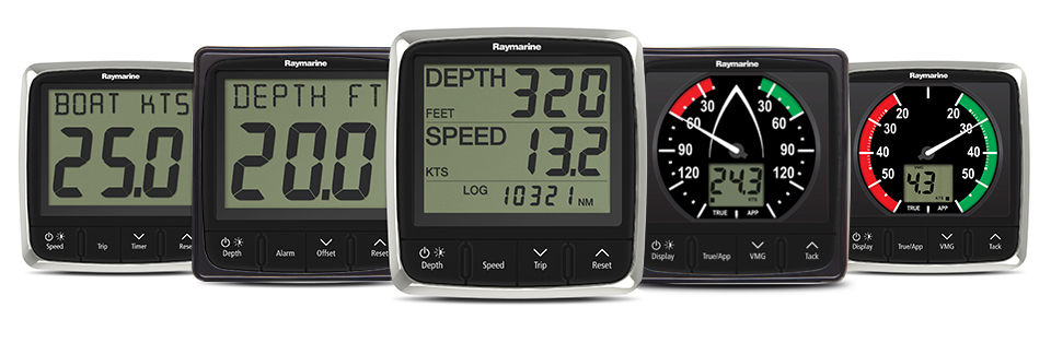 i50 and i60 Displays | Raymarine
