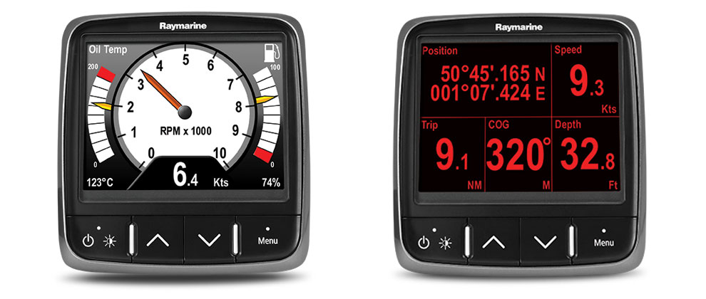 I70 multifunctioneel instrument raymarine by flir analogue and digital displays publicscrutiny Image collections
