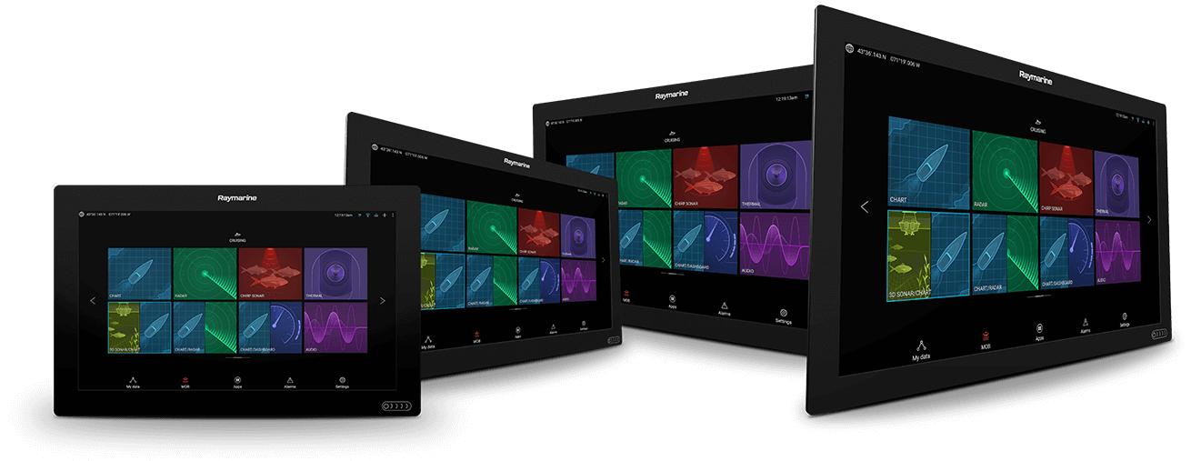 NIEUW Axiom XL - glass-bridge multifunctionele display | Raymarine van FLIR