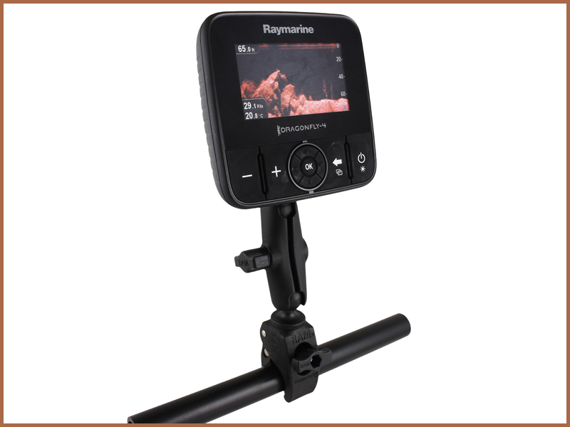 RAM Small Tough-Claw™ Base - Dragonfly 4, 5, 7 and Wi-Fish | Raymarine by FLIR