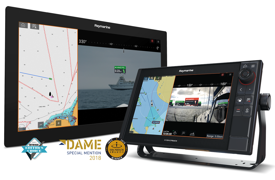 NIEUW LightHouse 3.7: Clear Cruise Augmented Reality (AR) | Raymarine - een merk van FLIR