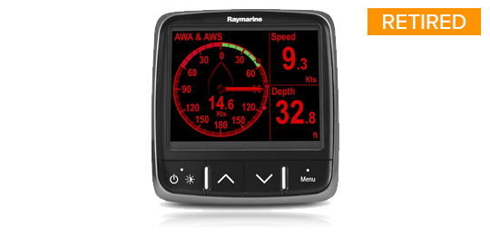 i70 multifunctioneel instrument | Raymarine - A Brand by FLIR