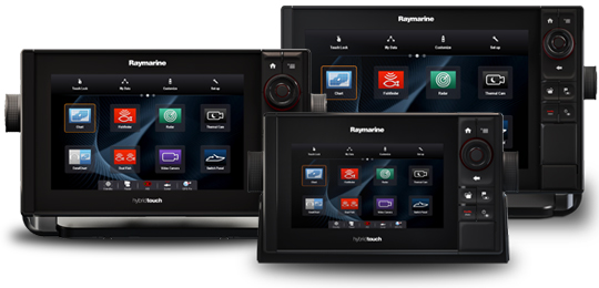 Multifunctionele displays | Raymarine