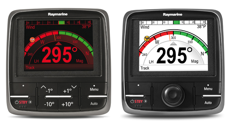 Raymarine p70 and p70R Autopilot Control Heads
