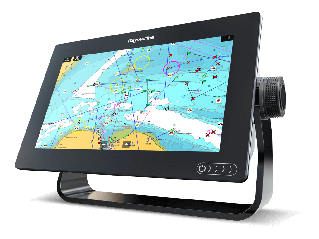 NIEUWE multifunctionele Axiom-display | Raymarine van FLIR
