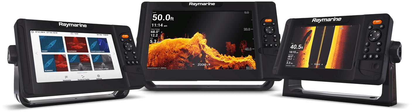 NIEUW Element: multifunctionele sonar/GPS-display | Raymarine van FLIR