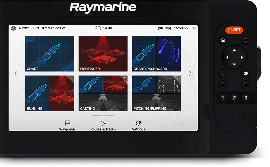 Element: LightHouse Sport OS | Raymarine - een merk van FLIR