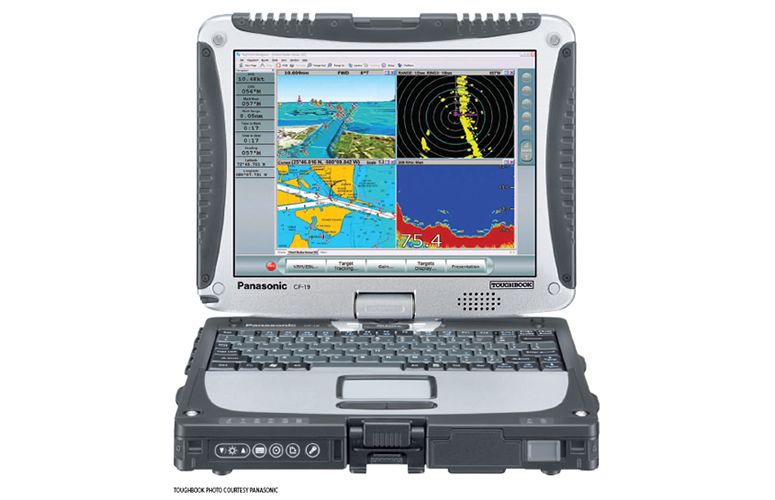 Raymarine RayTech Navigation Software on Panasonic Toughbook | Raymarine